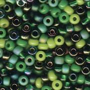 Miyuki Rocailles Beads 3mm Mix03 Evergreen ca 22gr