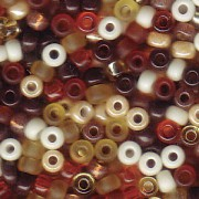 Miyuki Rocailles Beads 3mm Mix04 Wheatberry ca 22gr