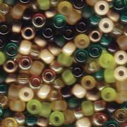 Miyuki Rocailles Beads 3mm Mix07 Earthtone ca 22gr