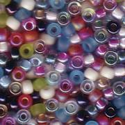 Miyuki Rocailles Beads 3mm Mix15 Spring Flowers ca 22gr