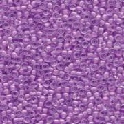 Miyuki Rocailles Beads 3mm 0222 insinde colorlined Lavender  ca 13gr