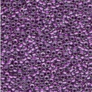 Miyuki Rocailles Beads 3mm 0243 insinde colorlined Purple ca 13gr
