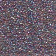 Miyuki Rocailles Beads 3mm 0256 transparent rainbow Light Amethyst ca 13gr