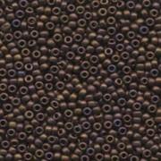 Miyuki Rocailles Beads 3mm 2005 metallic matte Copper irisierend ca 13gr