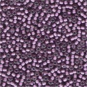 Miyuki Rocailles Beads 3mm 2650 inside colorlined Light Rose - Violet ca 13gr