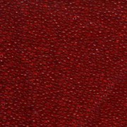 Miyuki Rocailles Beads 2mm 0141 transparent Red 12gr