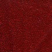 Miyuki Rocailles Beads 2mm 0141 transparent Red 12gr