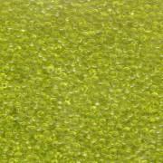 Miyuki Rocailles Beads 2mm 0143 transparent Lime Green 12gr