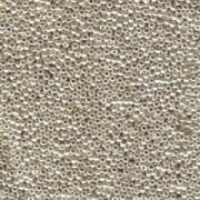 Miyuki Rocailles Beads 2mm 0181 galvanized Silver 12gr