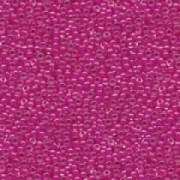 Miyuki Rocailles Beads 2mm 0209 insinde colorlined Fuchsia 12gr