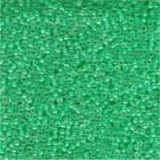 Miyuki Rocailles Beads 2mm 0219 insinde colorlined Aqua 12gr