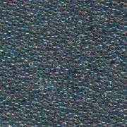 Miyuki Rocailles Beads 2mm 0283 bluelined rainbow crystal 12gr
