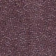 Miyuki Rocailles Beads 2mm 0312 luster Lilac Gold 12gr