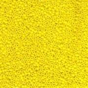Miyuki Rocailles Beads 2mm 0404 opaque Yellow 12gr