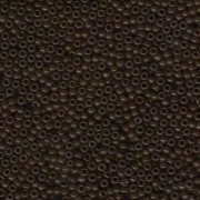 Miyuki Rocailles Beads 2mm 0409 opaque Brown 12gr