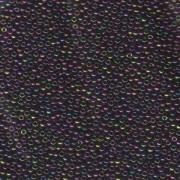 Miyuki Rocailles Beads 2mm 0454 metallic rainbow Violet Green Violet 12gr