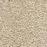 Miyuki Rocailles Beads 2mm 0577 Dyed Buttercream silverlined Alabaster 12gr
