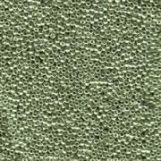 Miyuki Rocailles Beads 2mm 1087 galvanized dark Steel ca 12gr