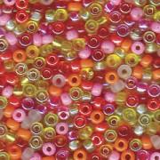 Miyuki Rocailles Beads 2mm Mix19 Tango ca 24 Gr.