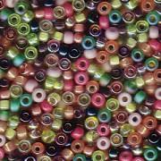 Miyuki Rocailles Beads 2mm Mix21 Lavender Garden ca 24 Gr.