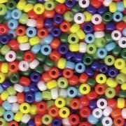 Miyuki Rocailles Beads 2mm Mix37 Opaque Rainbow ca 24 Gr.