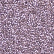 Miyuki Rocailles Beads 1,5mm 0012 transparent silverlined Light Amethyst ca 11gr