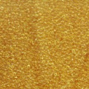 Miyuki Rocailles Beads 1,5mm 0132 transparent Light Gold ca 11gr