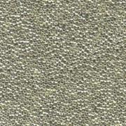 Miyuki Rocailles Beads 1,5mm 0181 galvanized Silver ca 11gr
