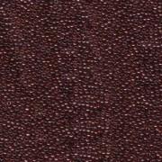 Miyuki Rocailles Beads 1,5mm 0304 Gold luster Garnet ca11gr