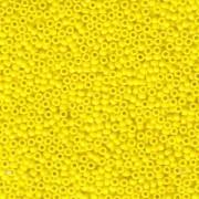 Miyuki Rocailles Beads 1,5mm 0404 opaque Yellow ca 11gr