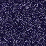 Miyuki Rocailles Beads 1,5mm 0434 opaque luster Purplish Blue ca 11gr