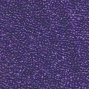 Miyuki Rocailles Beads 1,5mm 1558 Crystal sparkling Violet lined ca 11gr