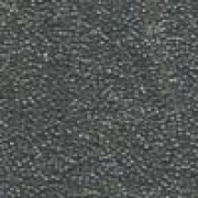 Miyuki Rocailles Beads 1,5mm 1865 galvanized luster Grey ca 11gr