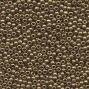 Miyuki Rocailles Beads 3mm 0457L metallic Light Bronze ca 13gr