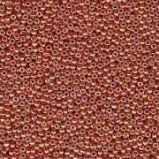 Miyuki Rocailles Beads 3mm 4207 Duracoat galvanized Pink Blush ca 22gr