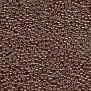 Miyuki Rocailles Beads 2mm 4213 Duracoat galvanized Dark Mauve ca 23,5gr