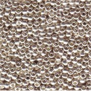 Miyuki Rocailles Beads 4mm 181 galvanized Silver 20gr