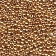 Miyuki Rocailles Beads 4mm 182 galvanized Gold 20gr