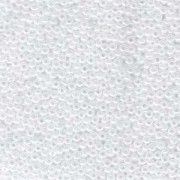 Miyuki Rocailles Beads 2mm 0528 Ceylon White ca 12gr
