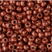 Miyuki Rocailles Beads 2mm 4212F frosted Duracoat galvanized Dark Berry ca 23,5gr