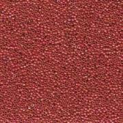 Miyuki Rocailles Beads 1,5mm 0476 opaque rainbow Red ca 11gr