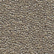 Miyuki Rocailles Beads 1,5mm 4201 Duracoat galvanized Silver ca 11gr