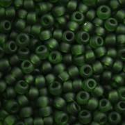 Miyuki Rocailles Beads 2,2mm 0158F oder 9660-624 transparent matt Turmaline ca 10gr