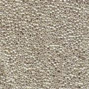 Miyuki Rocailles Beads 2,2mm 0181 oder 9660-064 galvanized Silver ca 10gr
