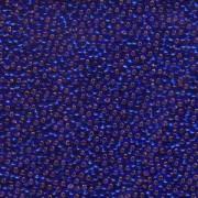 Miyuki Rocailles Beads 2,2mm 0020 oder 9660-484 silverlined Cobalt ca 10gr