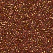 Miyuki Rocailles Beads 2,2mm 2422 oder 9660-724 silverlined Topas ca 10gr