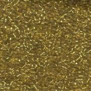Miyuki Rocailles Beads 1,5mm 0195 24 Karat Gold lined Chrystal ca 11gr