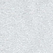 Miyuki Rocailles Beads 1,5mm 131FR matt rainbow Crystal ca 11gr