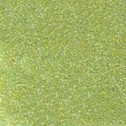 Miyuki Rocailles Beads 1,5mm 143FR matt rainbow Chartreuse ca 11gr