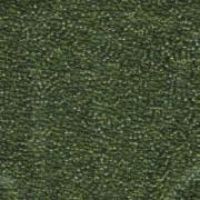 Miyuki Rocailles Beads 1,5mm 158 transparent Olive Green ca 11gr